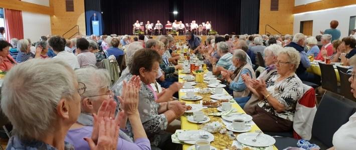 Stimmungsvolle und abwechlungsreiche VG – Seniorenparty