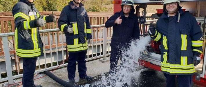 Gelungen VG – Feuerwehr – Abschlussübung in Vollmersweiler