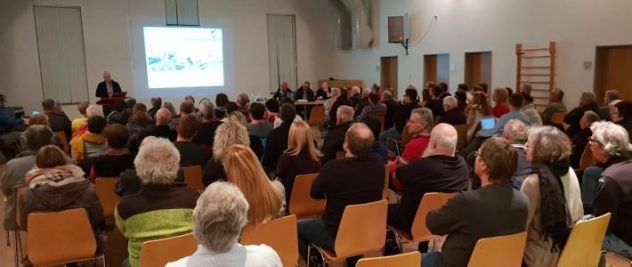 Sehr gut besuchte Einwohnerversammlung mit viel Information rund um die Gemeinde