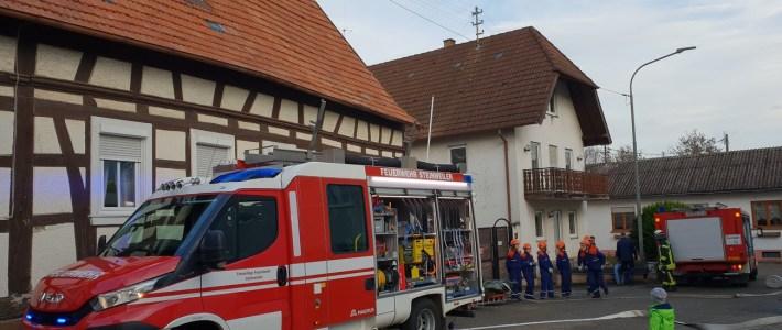 Gemeinsame Abschlussübung der Jugendfeuerwehren Erlenbach & Steinweiler