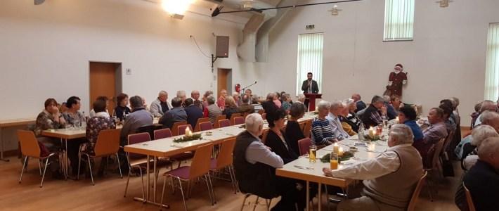 Senioren Weihnachtsfeier der Gemeinde Erlenbach