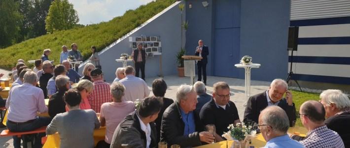 Neues Wasserbeckenhaus bei den Verbandsgemeinde Werke eingeweiht