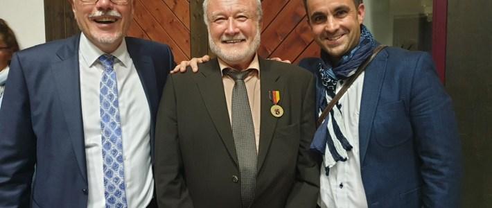 Herzlichen Glückwunsch Manfred Foos zum 70. Geburtstag und zur Landes – Verdienstmedaille