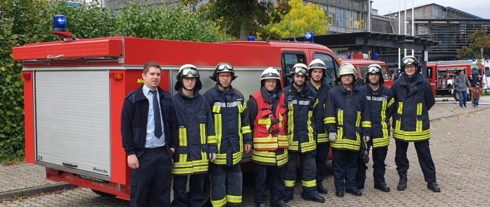Gelungene spektakuläre Feuerwehr VG – Abschlussübung an der IGS – Kandel