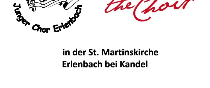 Ankündigung: 26.10.2019 – Chor Voice of Happiness & Rock the Choir