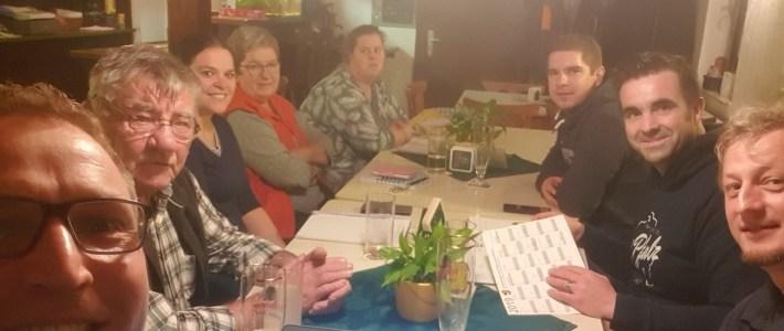 Vereinsvertreter gestalten den Gemeinde Veranstaltungskalender 2020