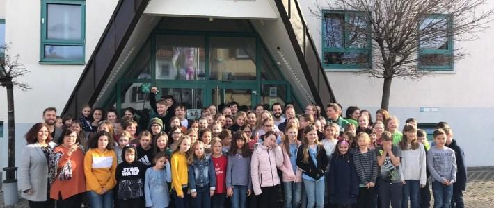 Little Voices proben 10 1/2 Stunden für die Landespräsentation Rheinland-Pfalz in Leipzig