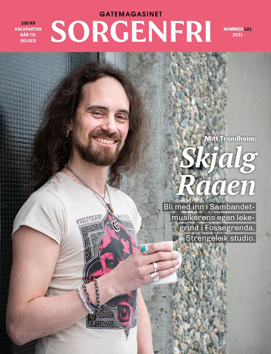 Cover av Sorgenfri mars 2021