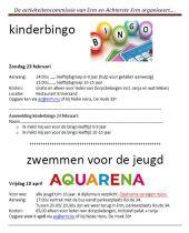 Kinder- en jeugdactiviteiten in Erm