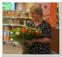 Bibliothecaresse gaat van pensioen genieten