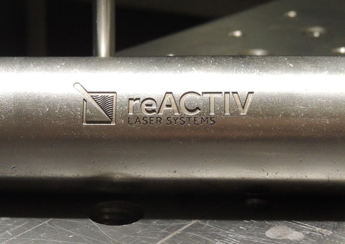 reactiv lasers engraving
