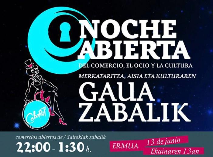 «La noche abierta » de la ACHE trae el cabaret a Ermua
