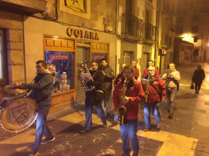 Irulitxa celebra el día de santa Cecilia, patrona de los músicos