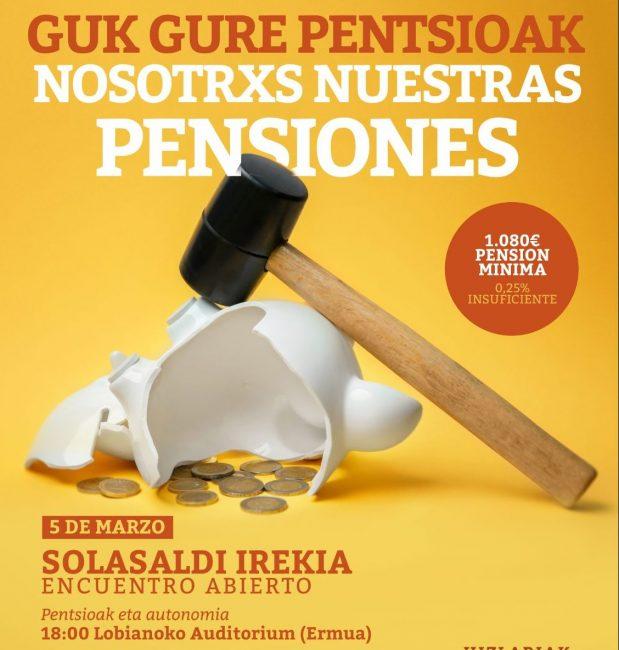 Lobiano acoge un encuentro para debatir el futuro de las pensiones