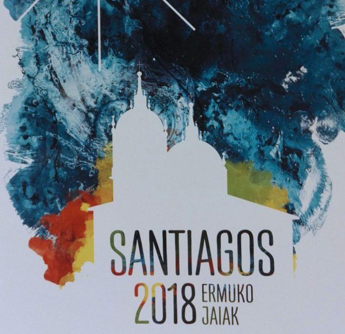 Un cartel de Rubén Lucas ilustrará el programa de Santiagos 2018