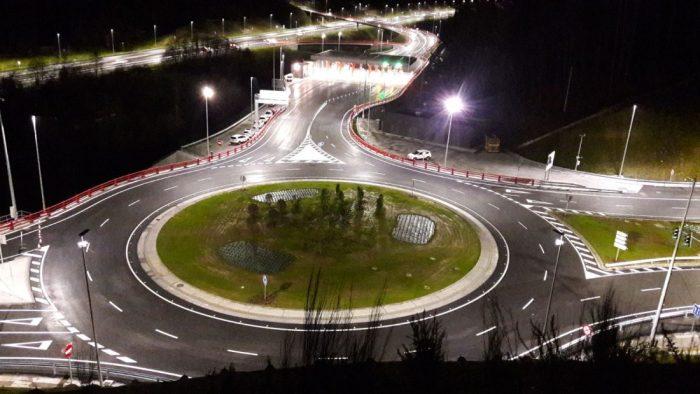 El nuevo vial del peaje estará abierto en octubre