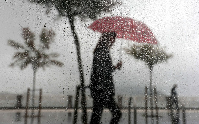 Activado Aviso Amarillo por precipitaciones intensas ésta tarde