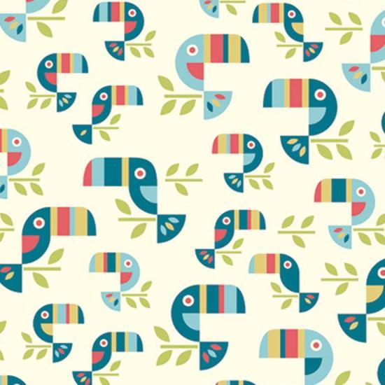 Tucan Tango Fabric von Birch fabric