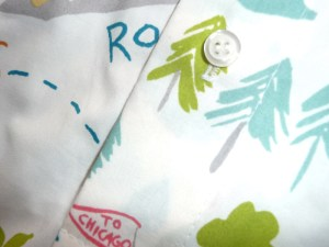 RoadTrip Boxershorts Detail knopf