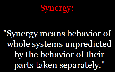 Synergy Definition Quash Concerned and Adversely Impacted Voices into Profit for Industry, put Regulator Responsibilities onto Shoulder of Communities
