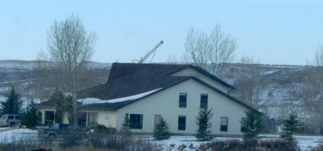 Encana deviated drilling at Rosebud Alberta November 18 2013.JPG