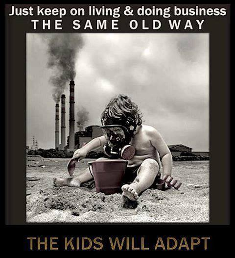 Doing Oil and Gas Pollution the same old way the children will adapt
