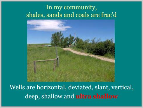 2014 05 24 snap Countenay presentation by Ernst In my community all kinds of fracd wells