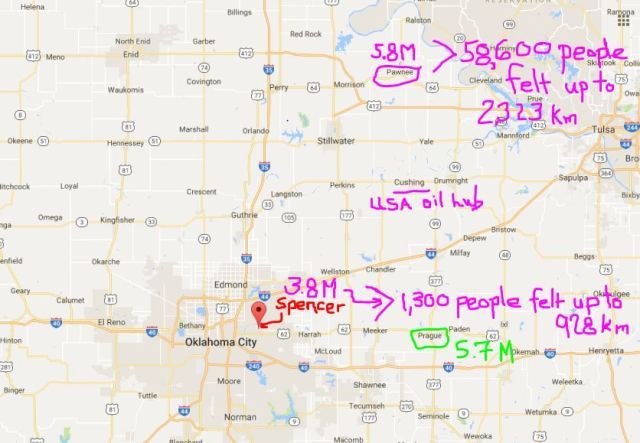 2016-09-10-map-spencer-oklahoma-3-8m-earthquake-felt-by-1300-people-up-to-928-km-away