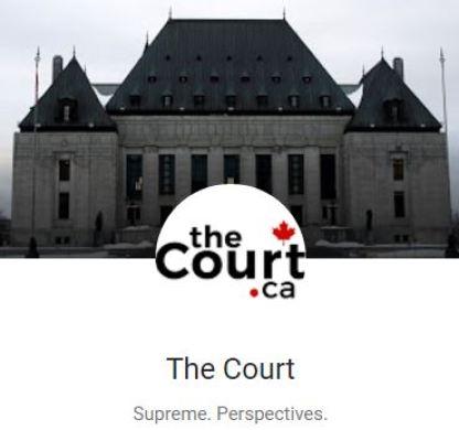 2017 01 20 theCourt.ca logo, 'Damaging the Charter' Ernst v. Alberta Energy Regulator by Lorne Sossin