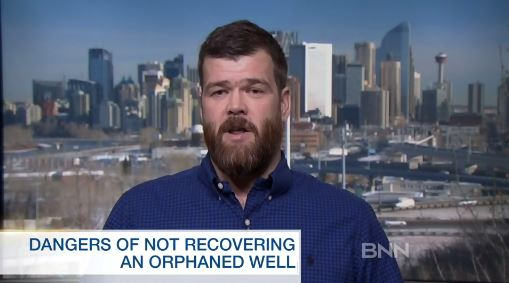 2017 02 17 Brent Nimeck interview w BNN, Dangers of not recovering orphaned well