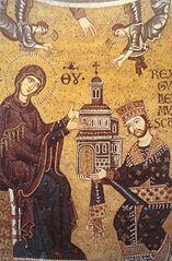 Guglielmo II d'Altavilla consacra la Chiesa alla Vergine.