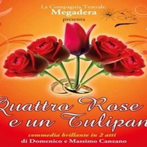 Quattro Rose e un Tulipano