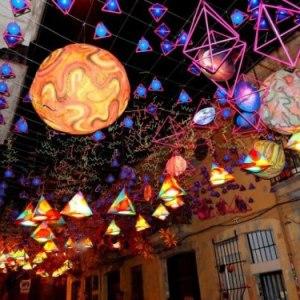 Major de Gràcia, il carnevale di Barcellona