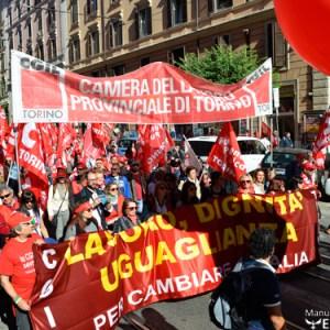 Manifestazione Cgil, un milione a Roma