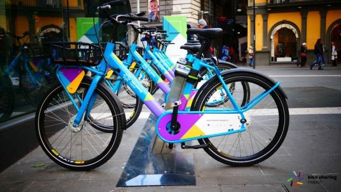 bike sharing a napoli
