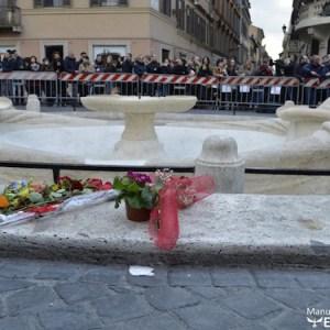 Scontri e devastazione in Piazza di Spagna
