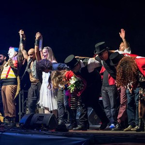 Cirque des Reves e Blandizzi al Maschio Angioino