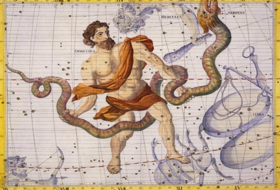 Ofiuco, il tredicesimo segno Zodiacale
