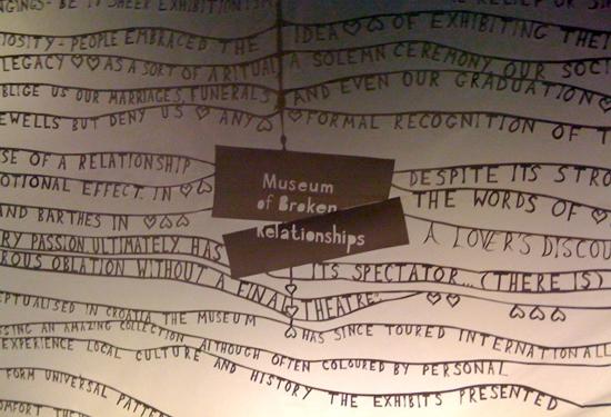 Al Museum of broken relationships lasciarsi è arte