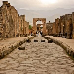 gli scavi di pompei