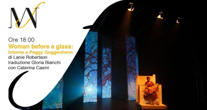 Al MANN: Woman before a glass - intorno a Peggy Guggenheim