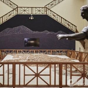Al MANN il plastico di Pompei rivive grazie alla tecnologia