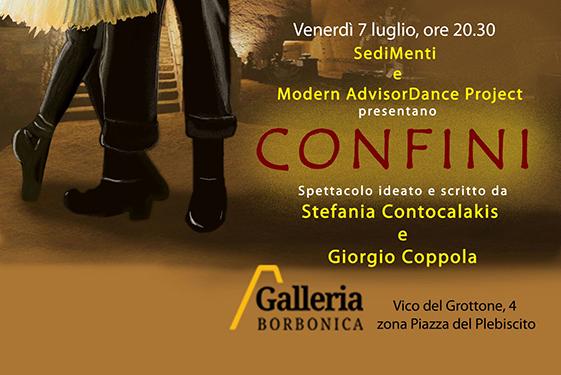 """""""Confini"""", un racconto danzato in scena al Tunnel Borbonico"""