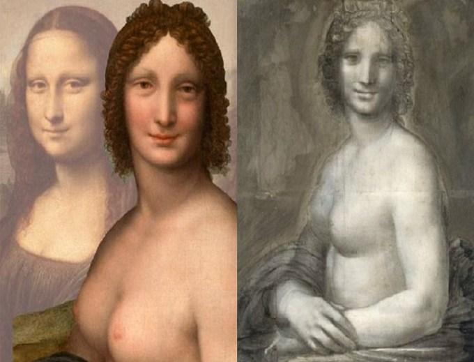 Monna Lisa e il mistero della versione senza veli al Musée Condé