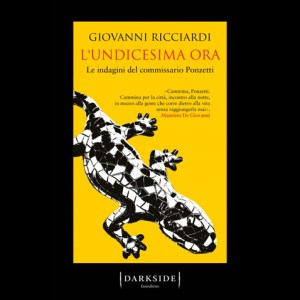 Giovanni Ricciardi con il suo nuovo libro, L'undicesima ora