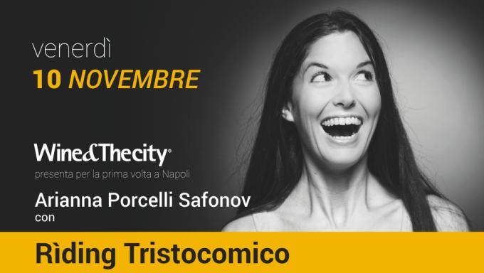 """Arianna Porcelli Safonov, un """"Rìding Tristocomico"""" al cinema Hart"""