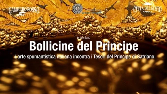 Museo Filangieri e Città del Gusto insieme per Bollicine del Principe 2017