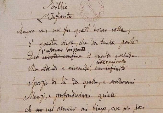 Leopardi bibliofilo: a Napoli riemergono carte inedite