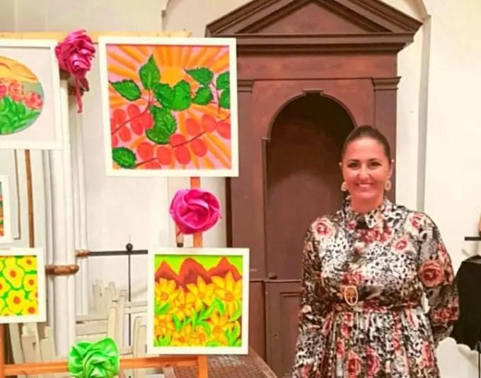 """Paola Fiorentino, """"I colori dell'anima"""" alla Fondazione Vico"""