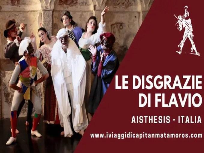 La Chiesa di Santa Marta e Le disgrazie di Flavio